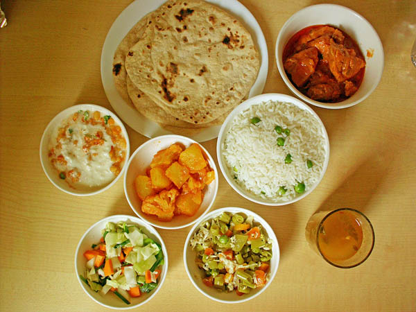 Indian Food - Image Credit: https://www.flickr.com/photos/tahini/7186023248